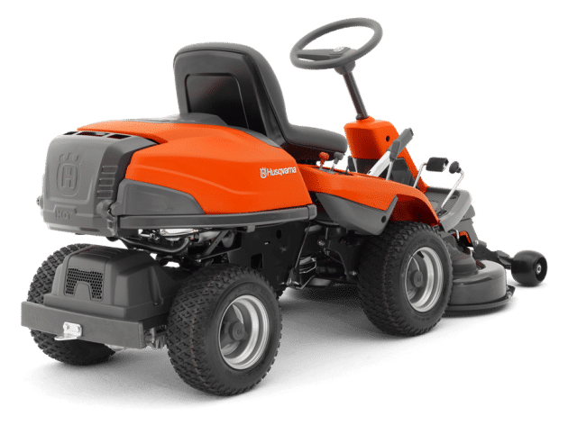 Husqvarna R 214 TC ride on mower back