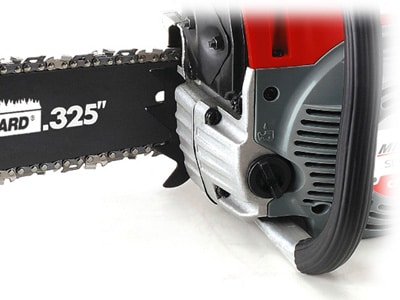 Mitox CS38 Select chainsaw up close