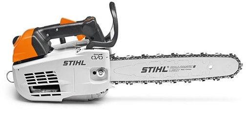 Stihl MS 201 TC M chainsaw from side