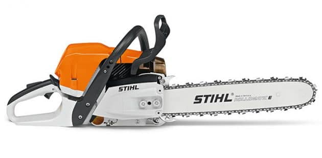 Stihl MS 362 C M chainsaw side view