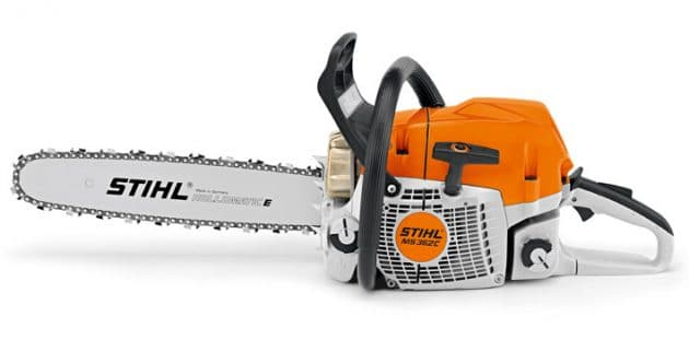Stihl MS 362 C M chainsaw left-side image