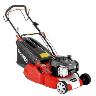 cobra rm40spb push lawn mower angle image