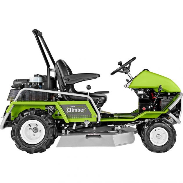 grillo climber 9.22 lawn mower from side