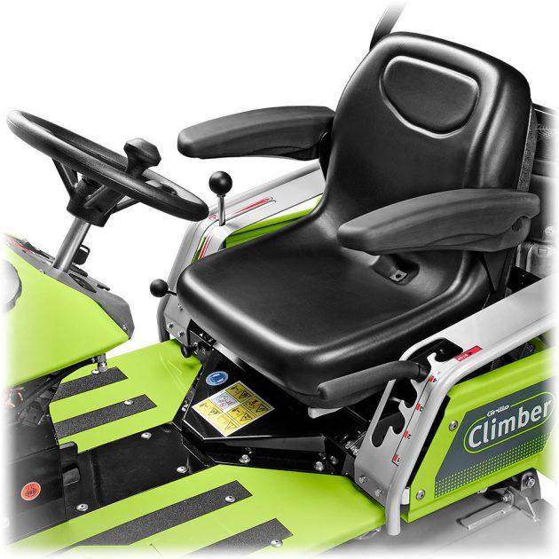 grillo climber 9.22 lawn mower seat
