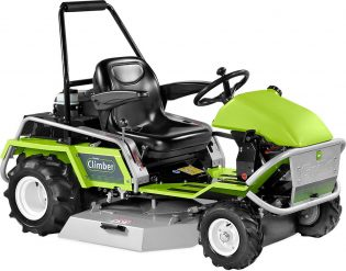 grillo climber 9.22 lawn mower at an angle