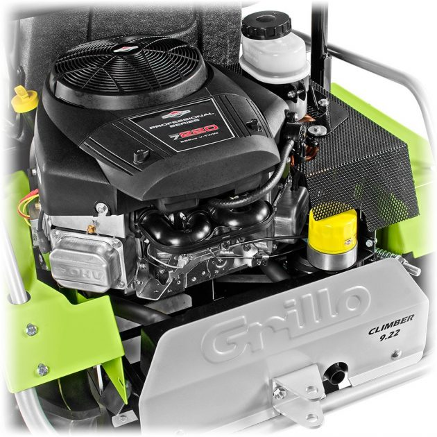 grillo climber 9.22 lawn mower engine