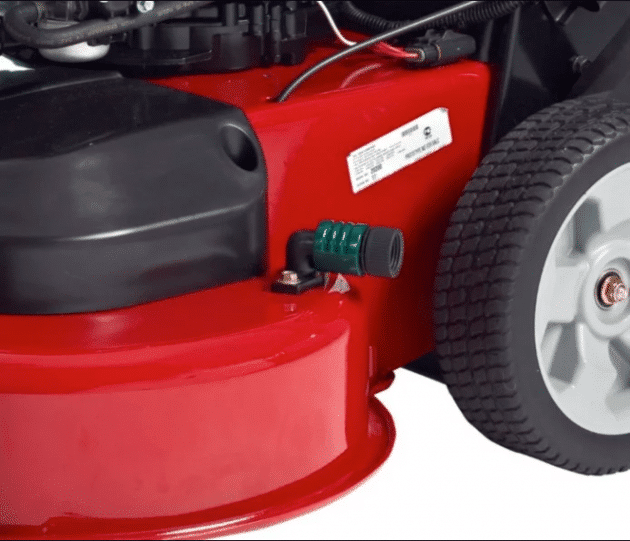 toro 20975 timemaster washout point for lawn mower